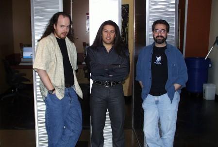 Слева - Anachronox Центр - Daikatana Справа - Deus Ex