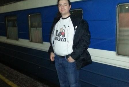 """Поезд """"Таллинн-Москва"""" мне почему-то очень нравится, хотя там не всегда работает интернет, и в вагоне-ресторане меню скудное."""