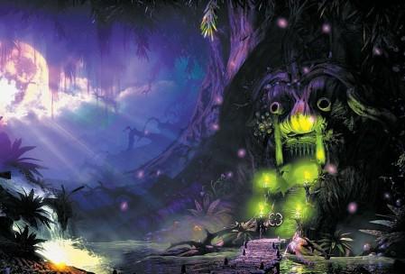 Если бы это была статичная картинка, можно было бы подумать, что это скриншот из, скажем, The Secret of Monkey Island.