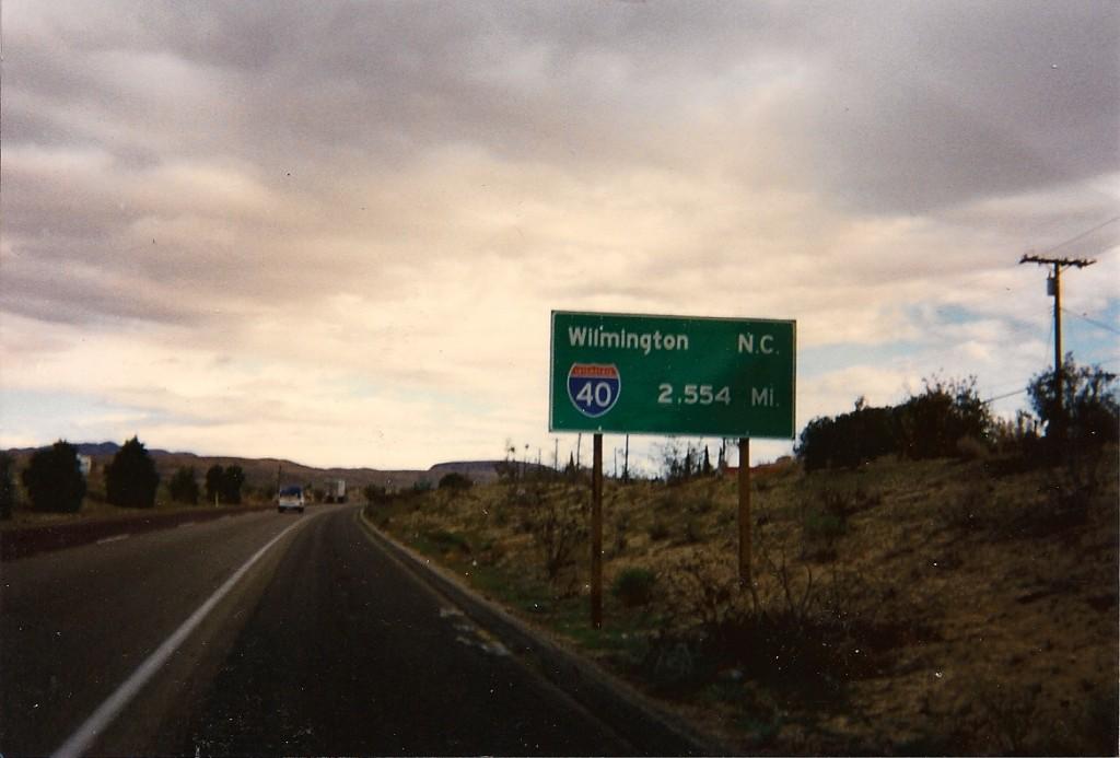 Start_of_Interstate_40
