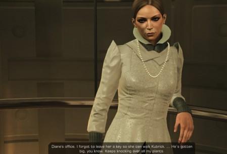 Доктора Меган Рид, бывшую любовь Адама Дженсена, озвучивала жена актера, который озвучил Дженсена. Вот звукорежиссер, поди, оторвался на сессиях.