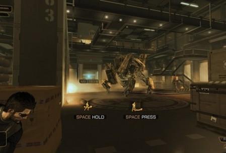 Один мой коллега утверждал, что в DE: HR много от Metal Gear. Много не много, но вот этот момент действительно заставляет задуматься.