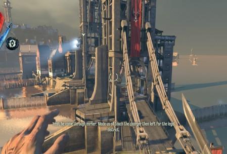 Благодаря телепортации и двойному прыжку понятие «вертикальный геймплей» подходит Dishonored куда больше, чем другим играм.