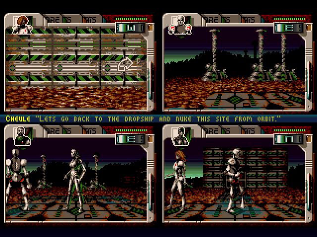 """Концепцию """"четырех экранов"""" позже попытались воплотить еще в нескольких играх, включая шутер по X-COM."""