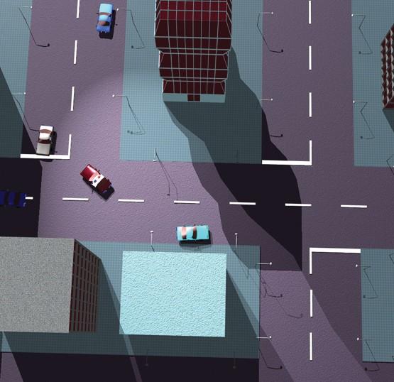 Прототип GTA с тех времен, когда она еще называлась Race 'n' Chase. Всего пять художников, и игру стало не узнать!
