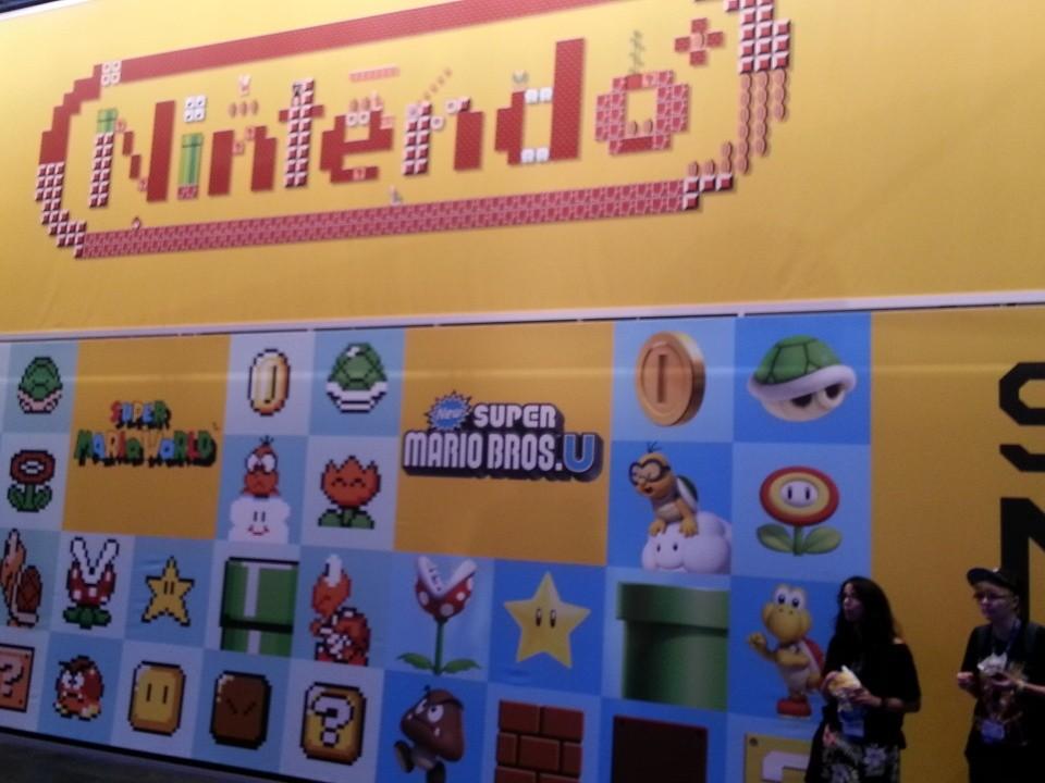 Под Super Mario Maker была выделено десятка полтора WiiU-юнитов.