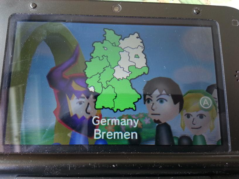 За три дня на GDC/gamescom я утроил  количество Mii, и собрал с нуля почти всю Германию.