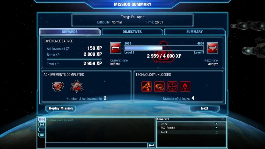 А когда-то на экране Mission Summary по сложной формуле высчитывалась эффективность прохождения уровня, и с каждым прохождением мы старались достичь заветных 100%...