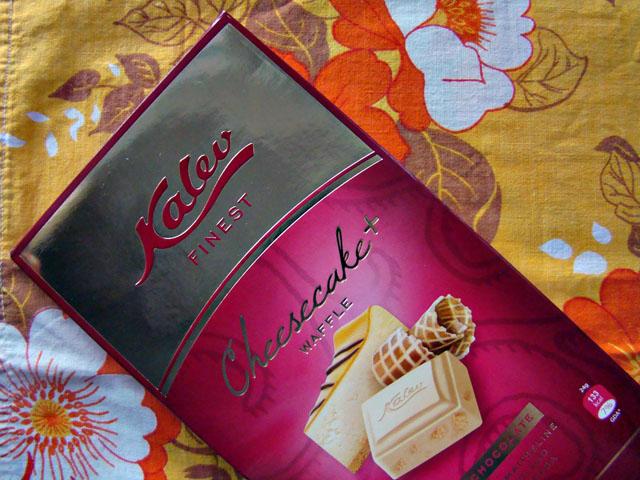 """У """"Калева"""" есть шоколад и марципан, кажется, на любой извращенный вкус. Чизкейк anyone?"""