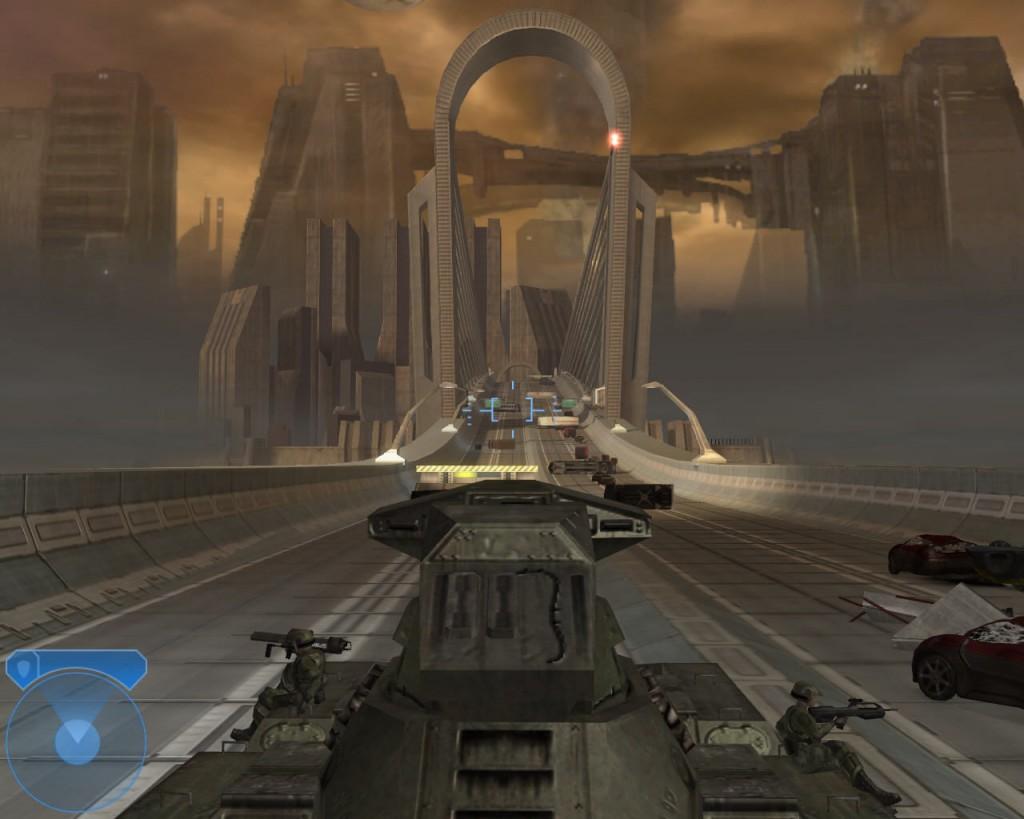 294303-halo-2-windows-screenshot-driving-a-tank-through-the-bridge