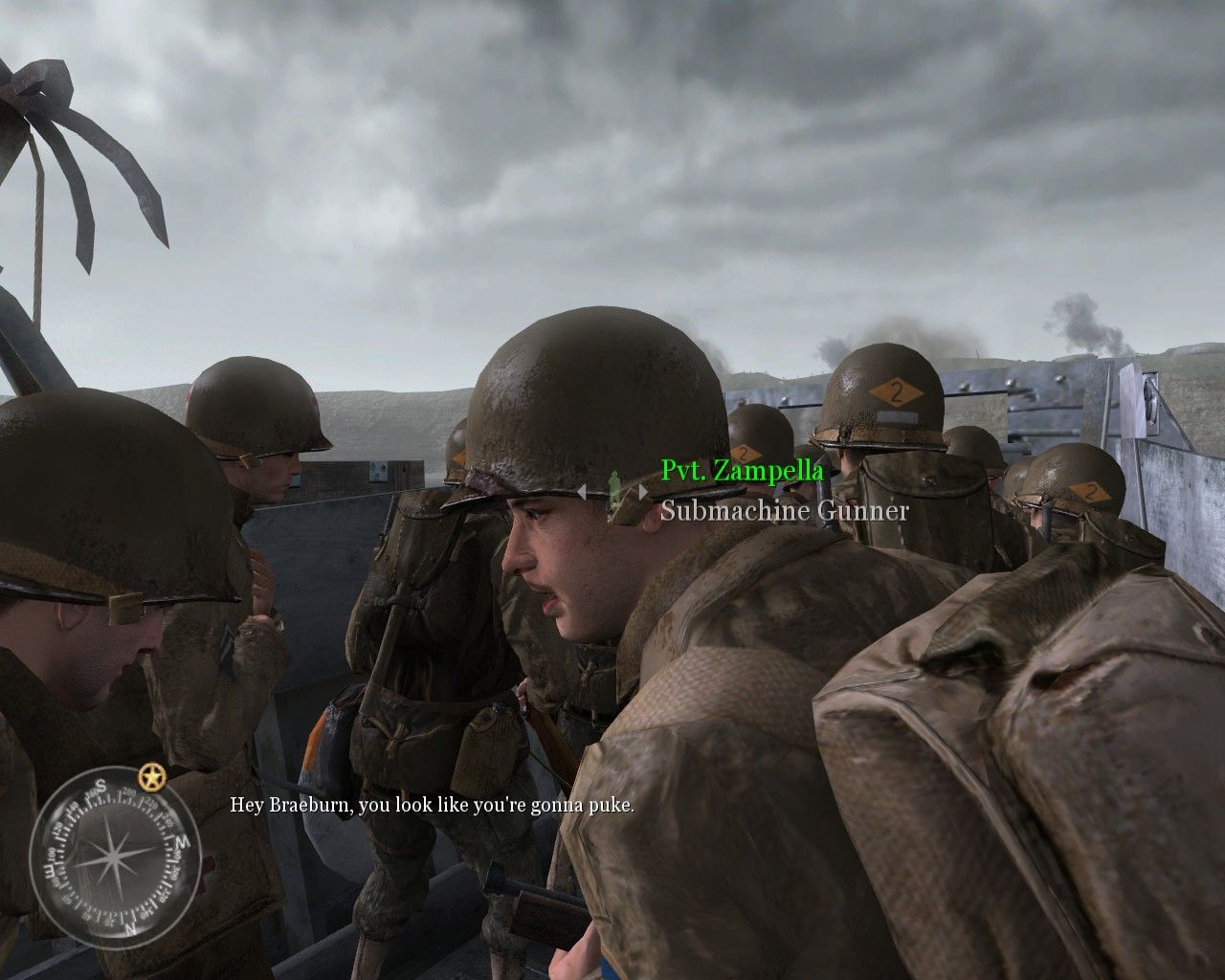 400984-call-of-duty-2-windows-screenshot-classic-d-day-situation