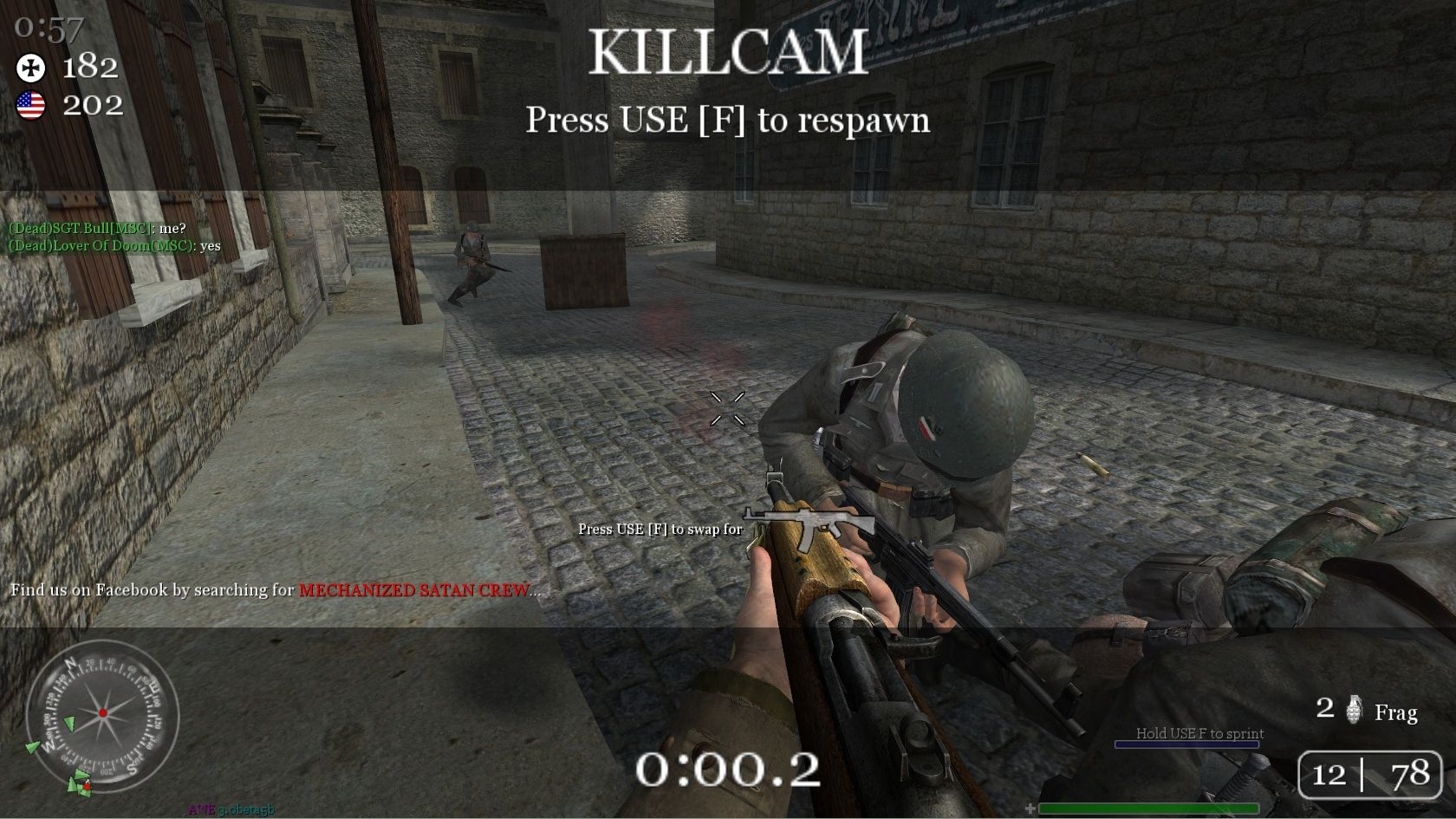 509509-call-of-duty-2-windows-screenshot-my-death-caught-on-call