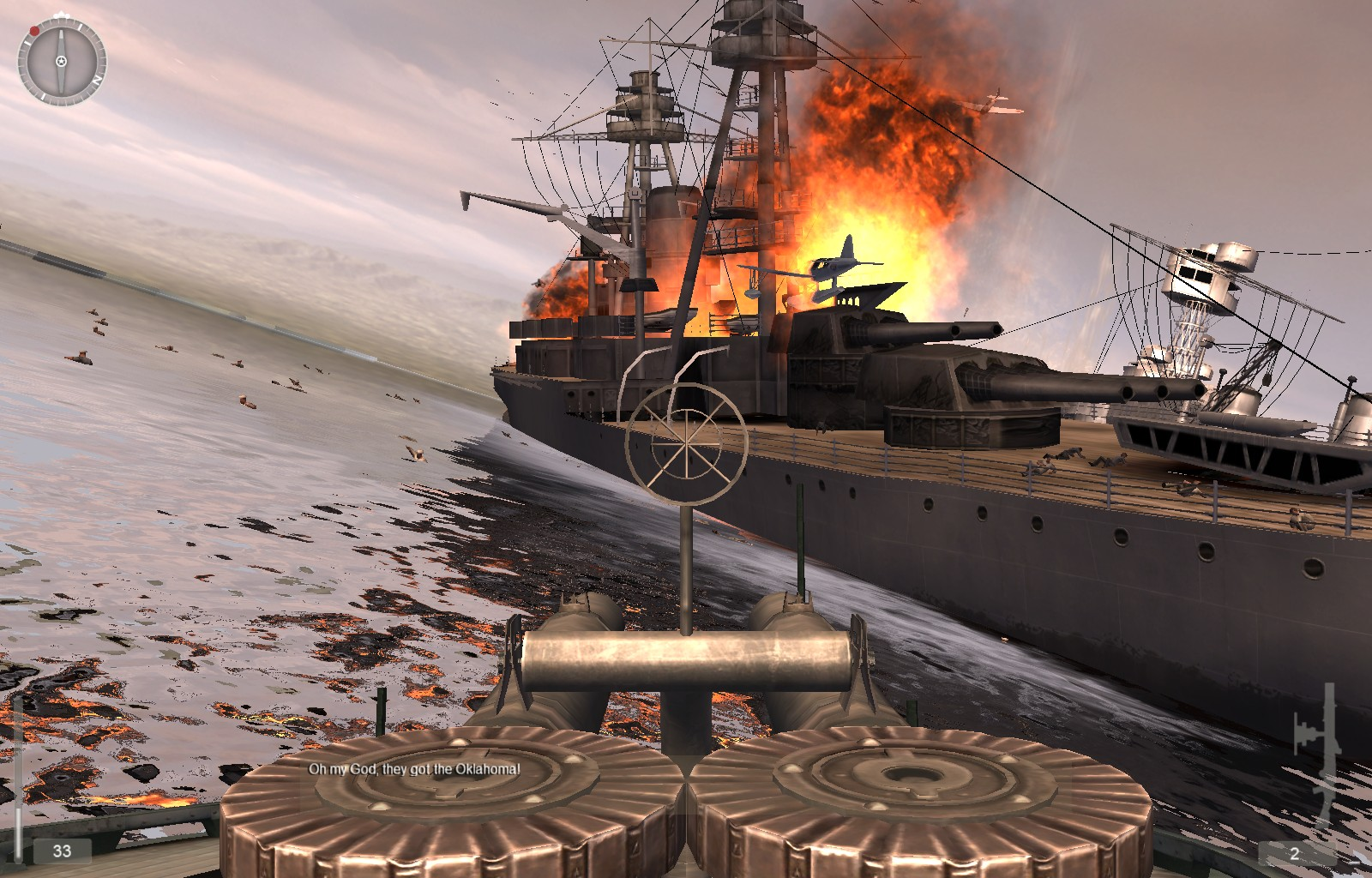 837358-medal-of-honor-pacific-assault-windows-screenshot-water-effects