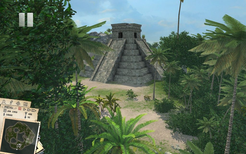 408988-tropico-3-windows-screenshot-ancient-ruins-can-be-used-as